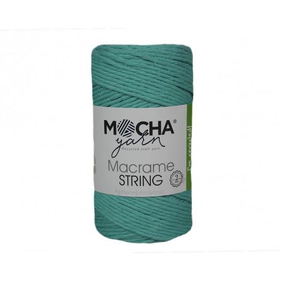 2 mm Mint Makrome String