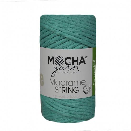 4 mm Mint Makrome String İp