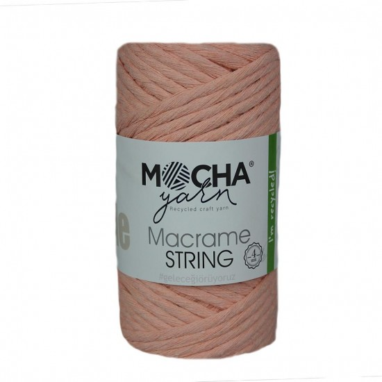 4 mm Somon Makrome String İp