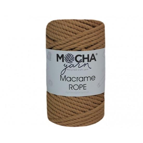 4mm Camel Makrome Rope İp