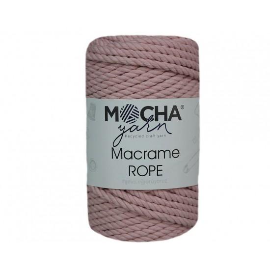 4mm Pudra Makrome Rope İp