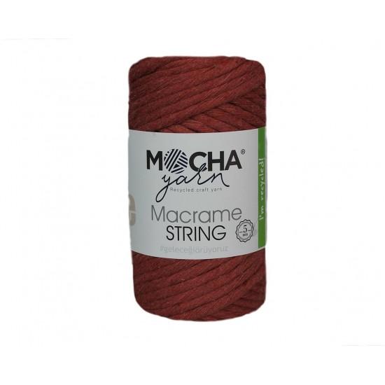 5mm Kiremit Makrome String İp