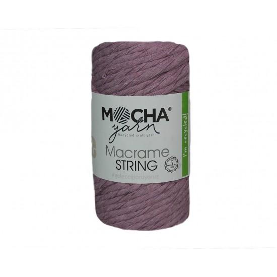 5mm Lila Makrome String İp