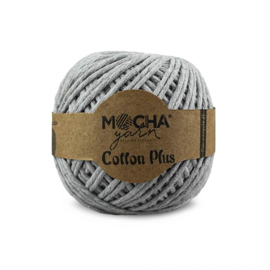 Açık Gri Makrome Cotton Plus