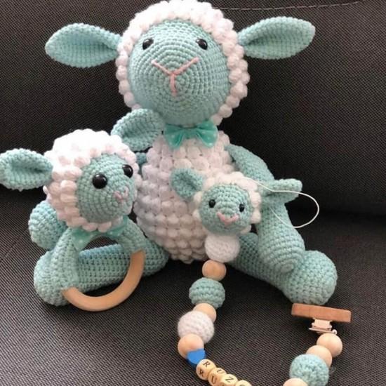 Bebe Mavi Amigurumi İp