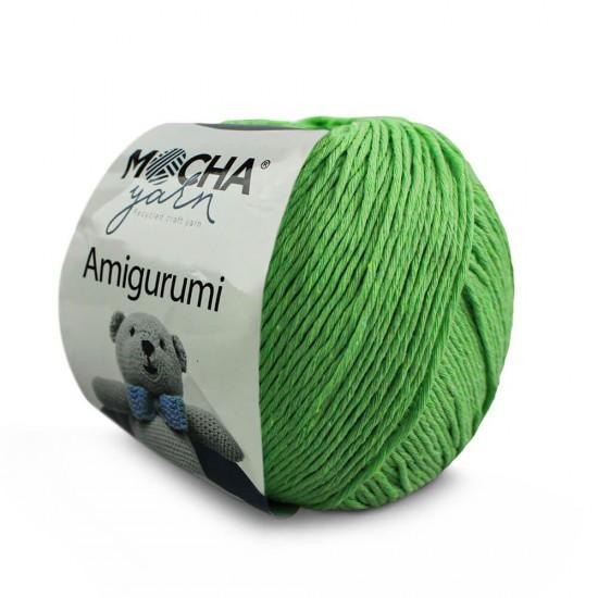 Fıstık Yeşili Amigurumi İp