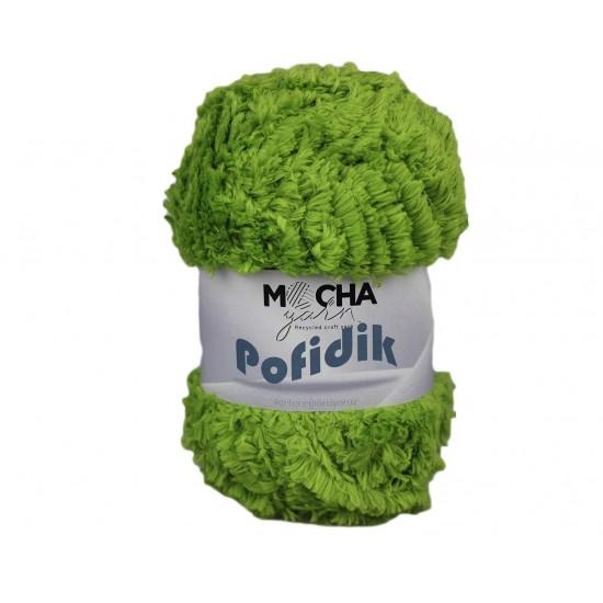 Fıstık Yeşili Soft Polyester Kuzucuk İp