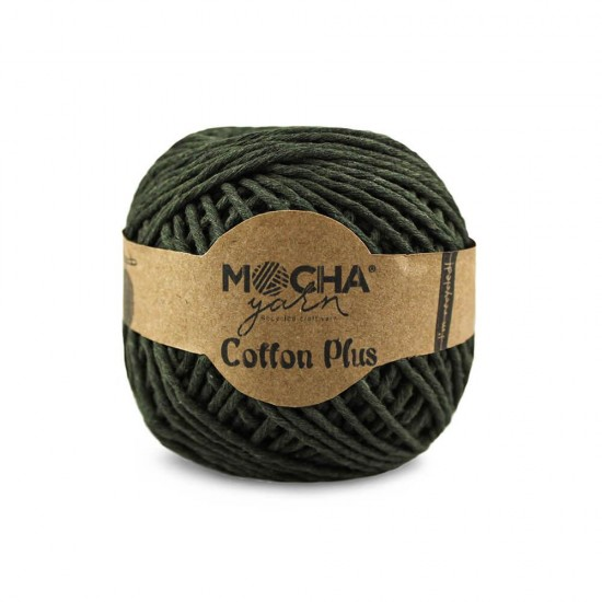 Haki Makrome Cotton Plus