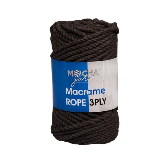 Kahve Makrome Rope İp