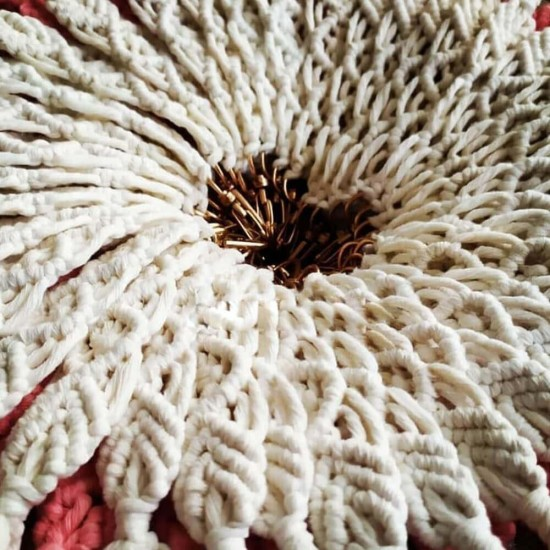 Kırmızı Makrome Cotton Plus