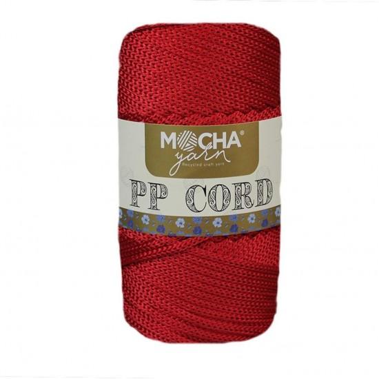 Kırmızı Polyester Cord İp