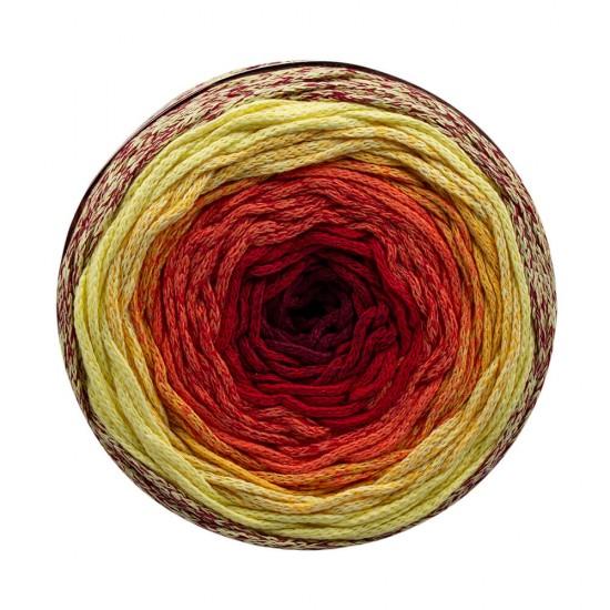 Kırmızı - Sarı Makrome Cake İp