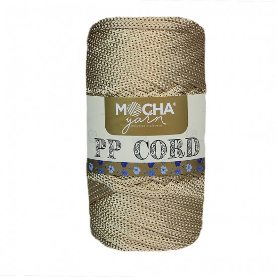 K.Mery Gold Polyester Cord İp