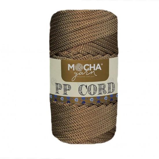 Metalik Camel Polyester Cord İp