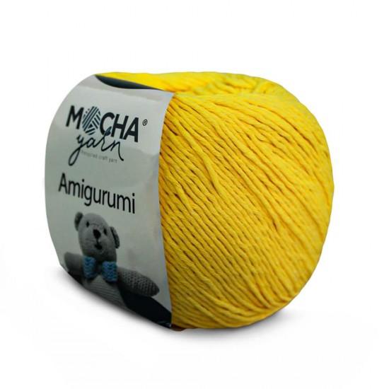 Sarı Amigurumi İp