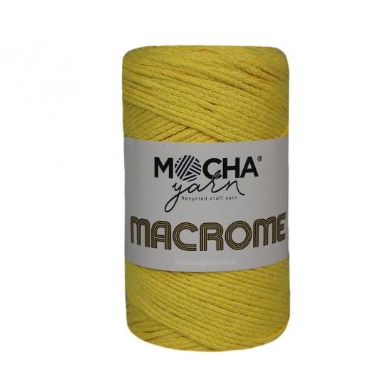 Sarı Makrome İp