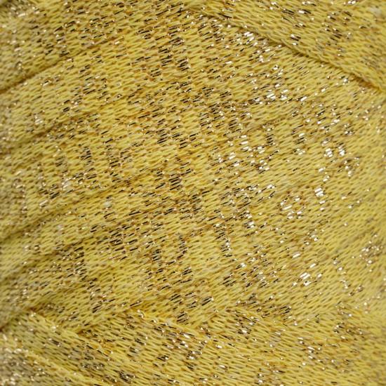Sarı Altın Simli Ribbon İp