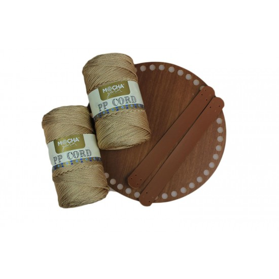 Gold Polyester Cord İp